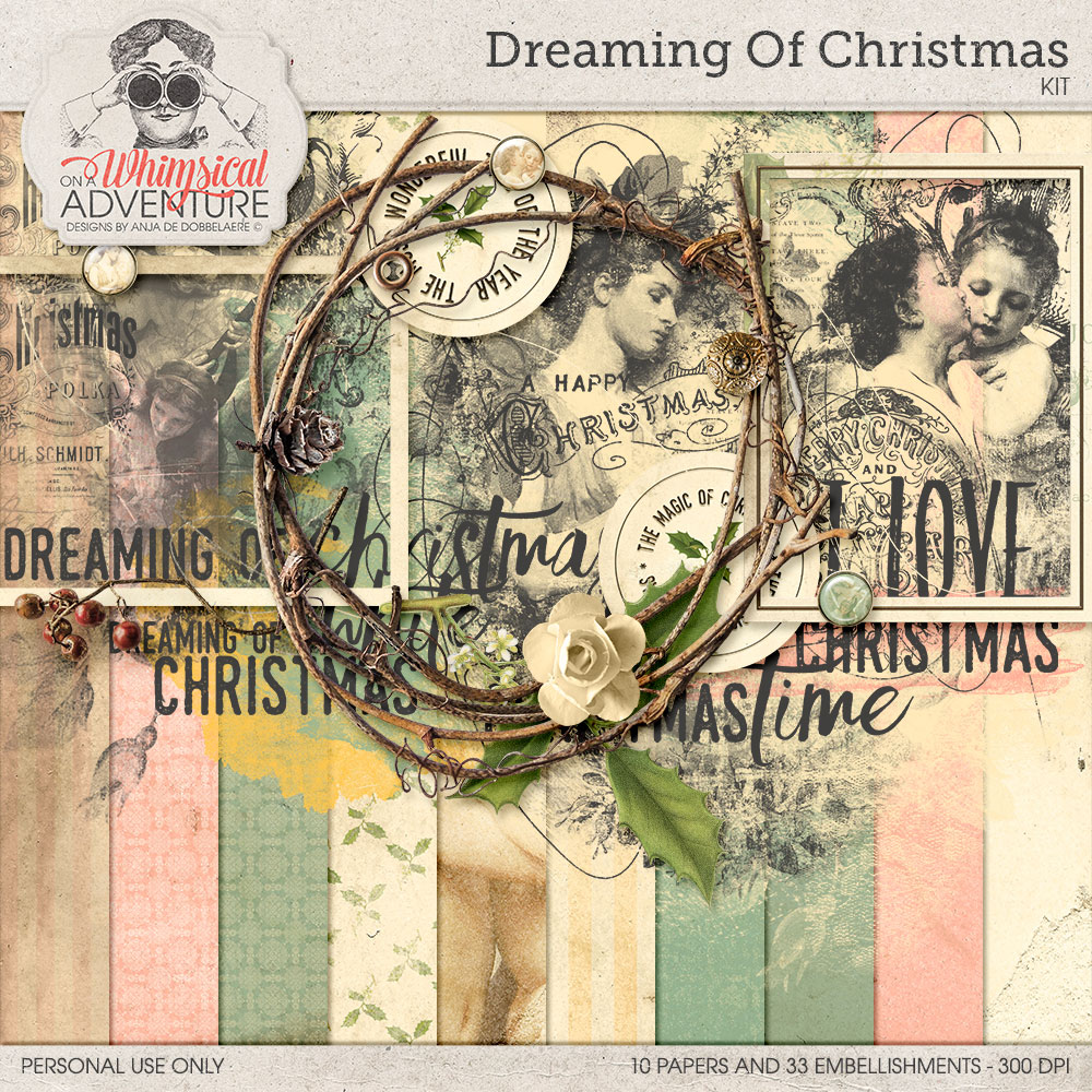 Dreaming Of Christmas Kit