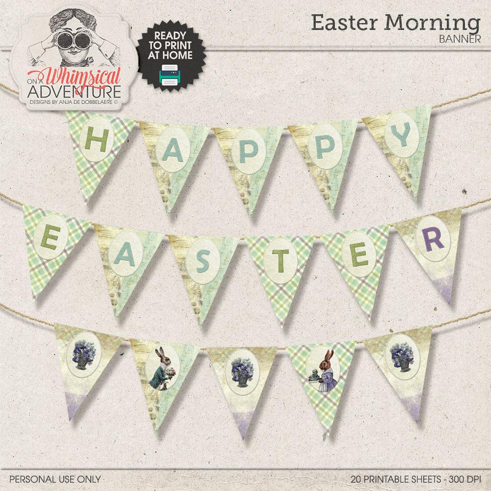 Easter Morning Banner