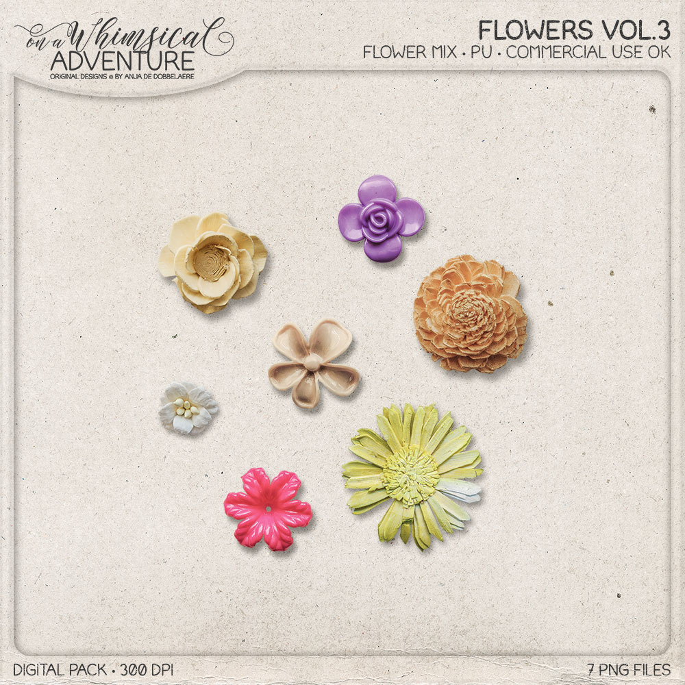CU Flowers Vol3