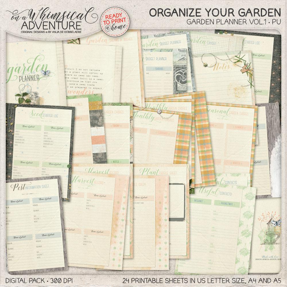 Garden Planner Vol1