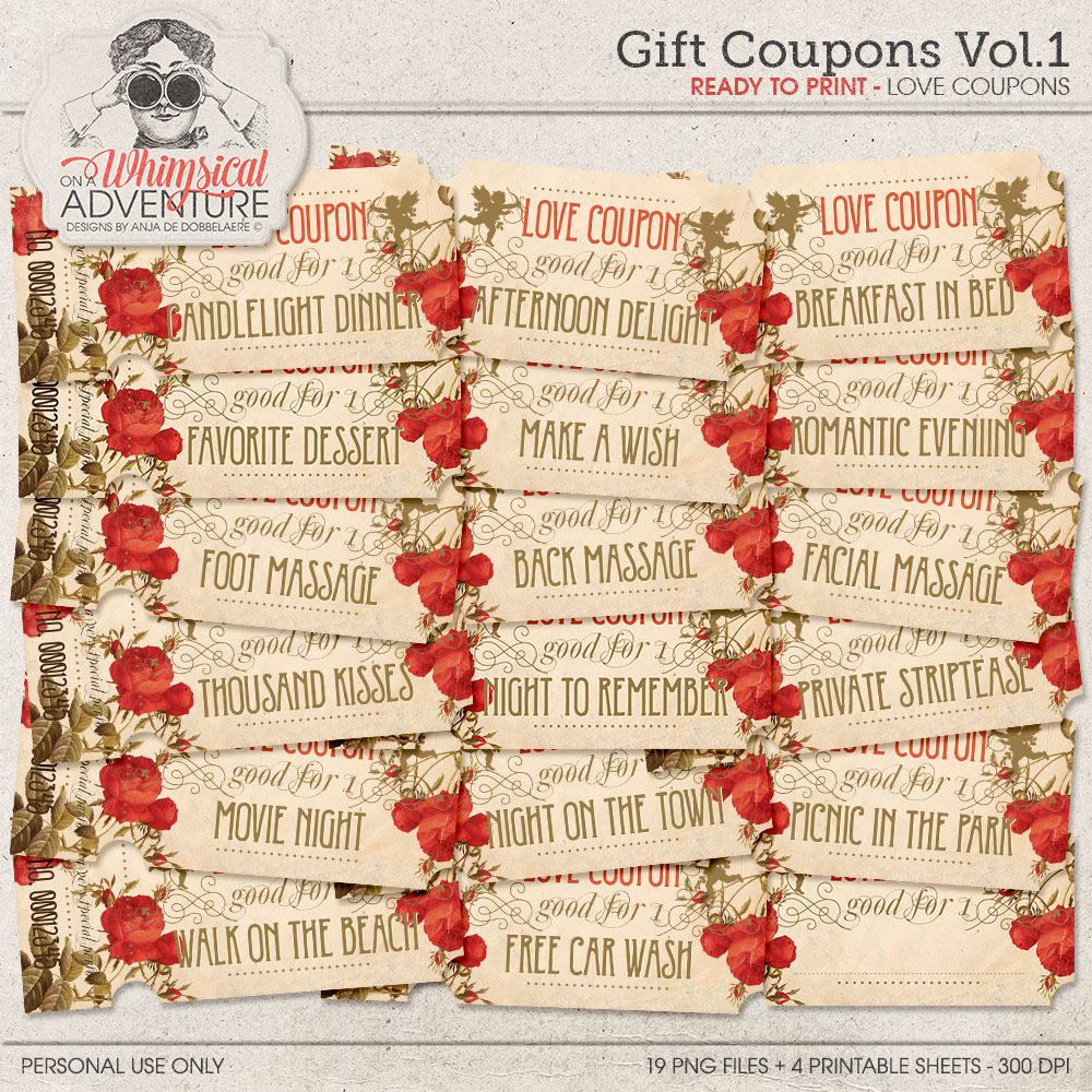 Gift Coupons Vol1