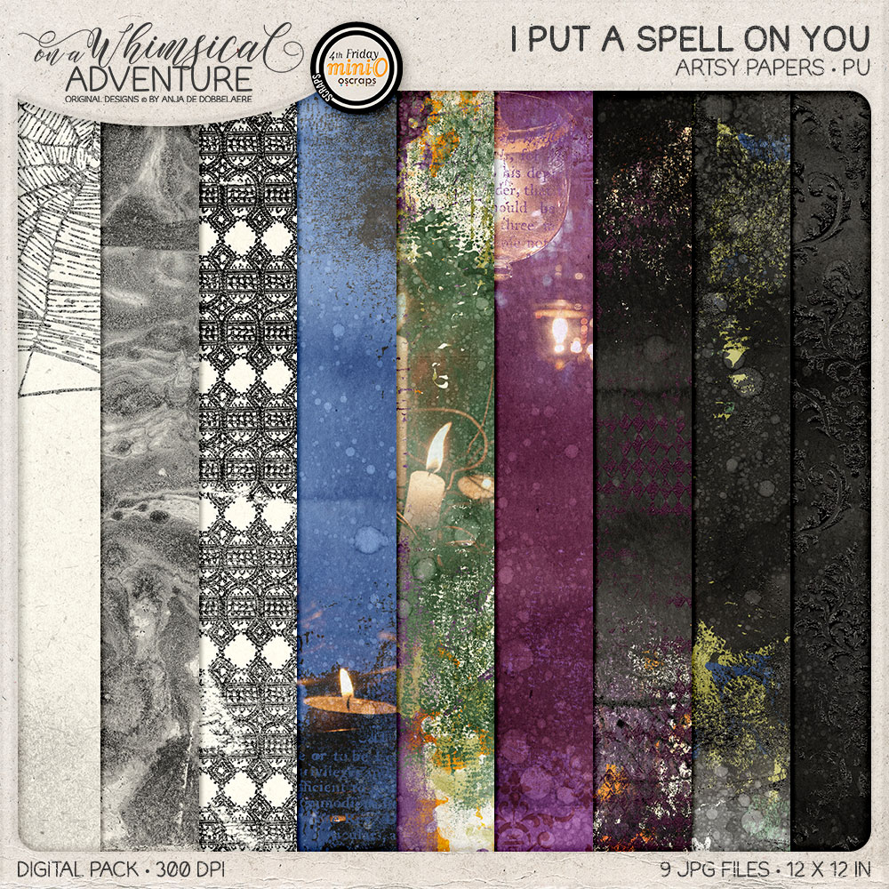 I Put A Spell On You Artsy Papers