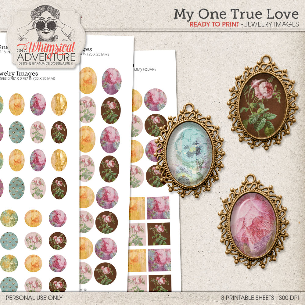 My One True Love Jewelry Images