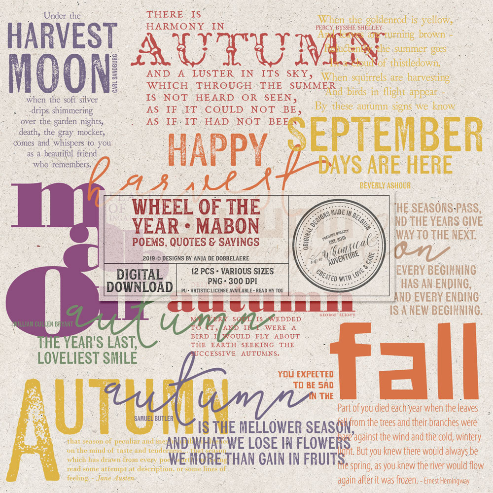 Wheel Of The Year Mabon Poems
