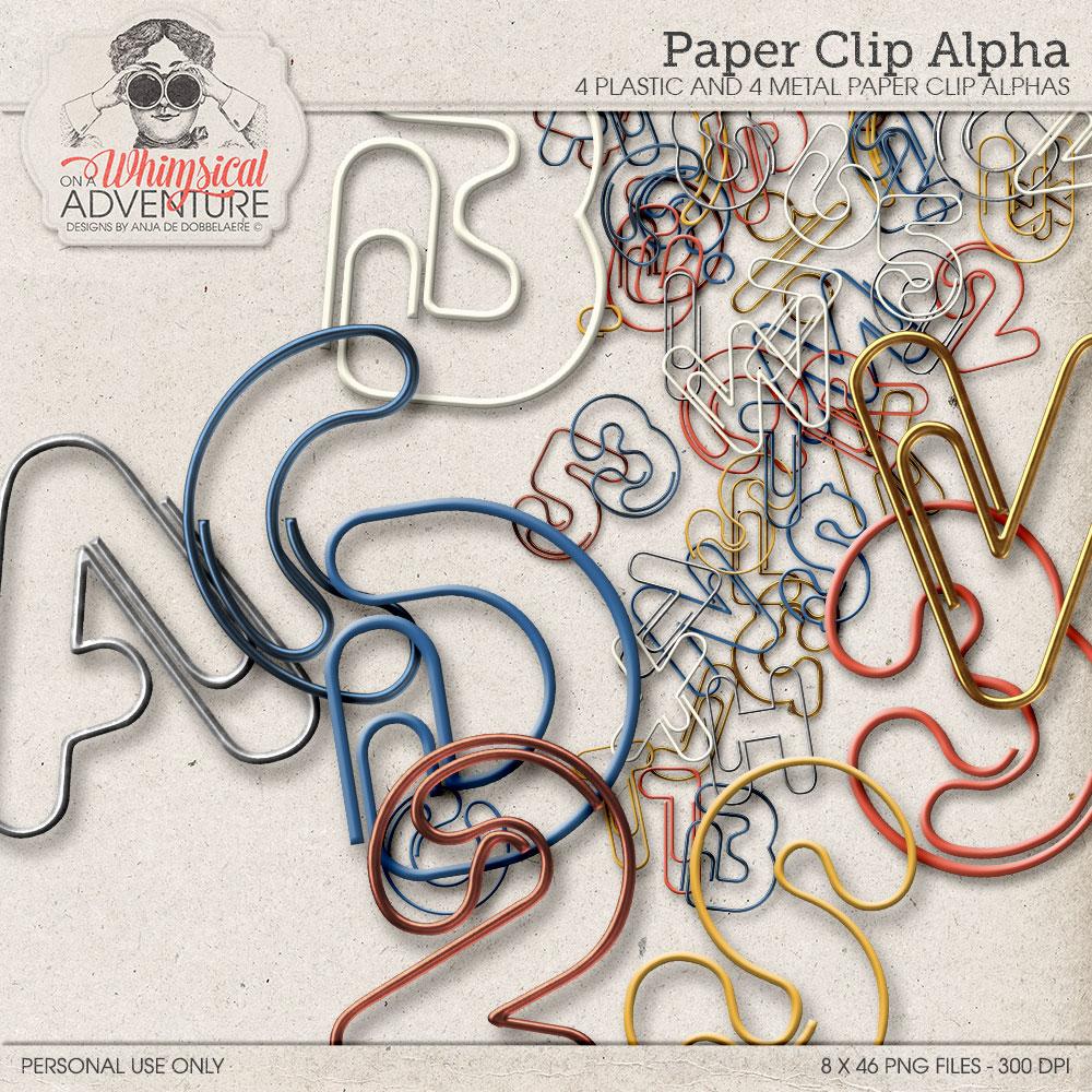 Paper Clip Alpha