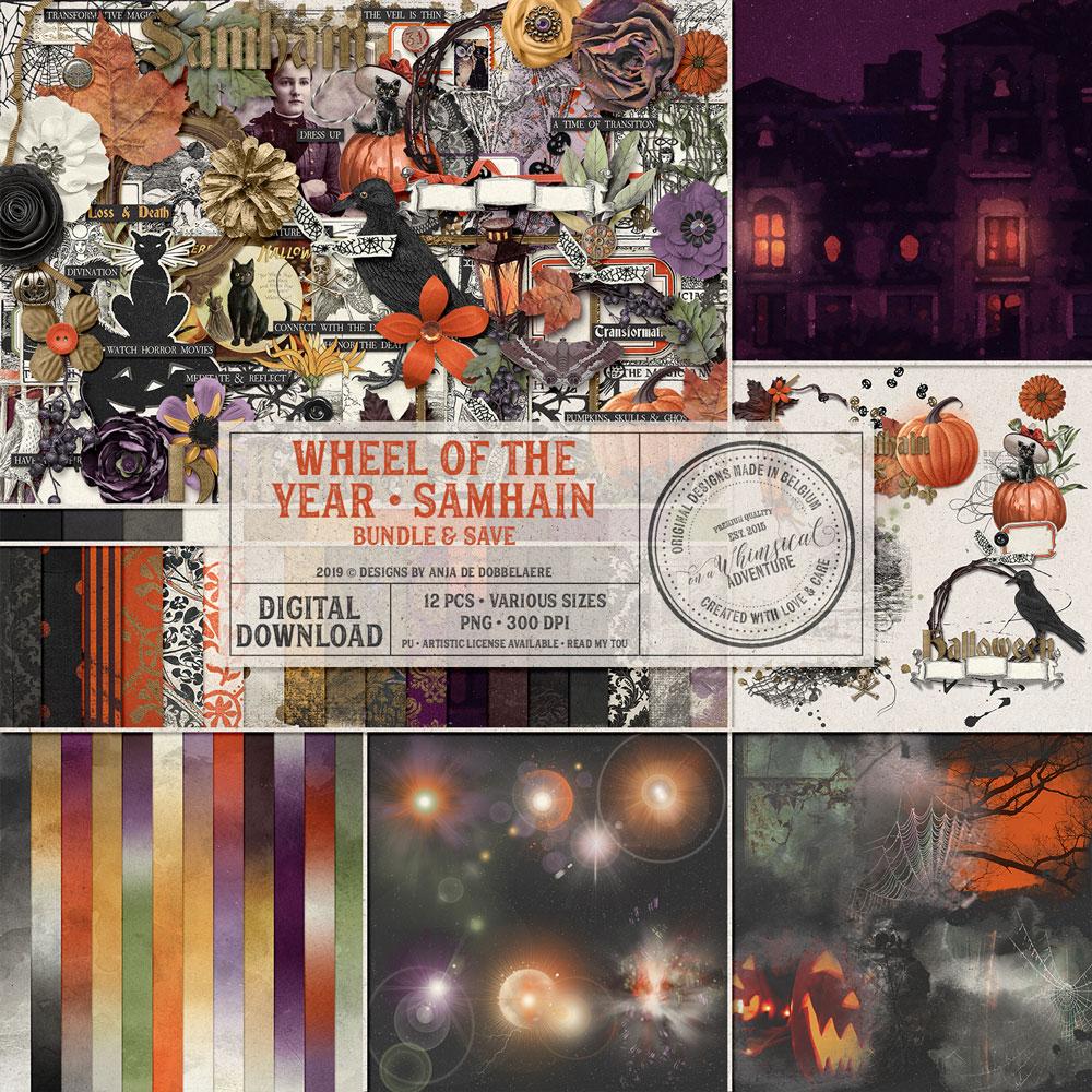 Wheel Of The Year Samhain Bundle