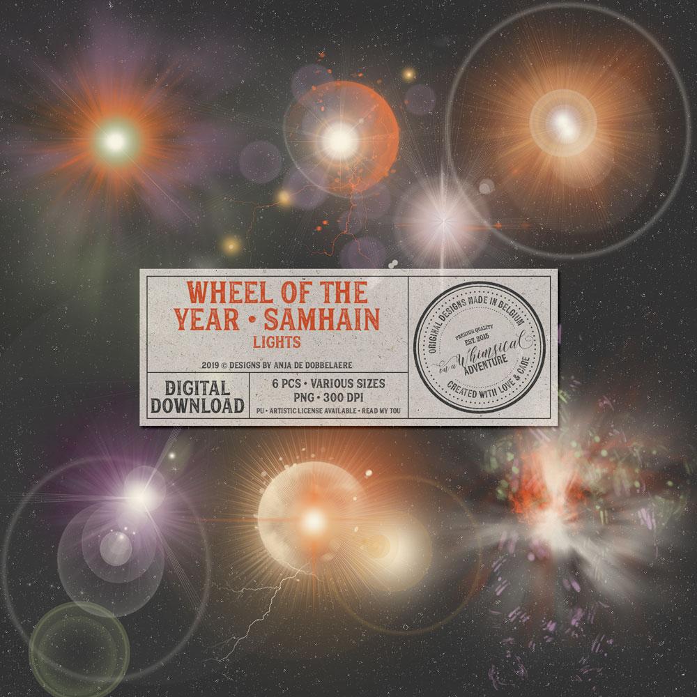 Wheel Of The Year Samhain Lights