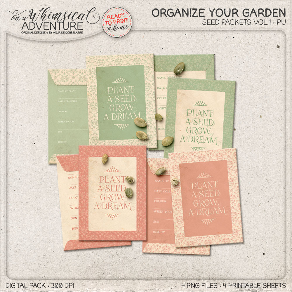Seed Packets Vol1