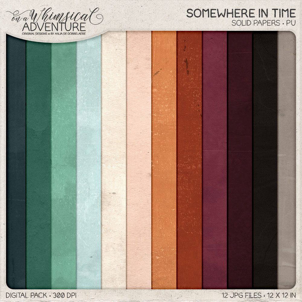 Somewhere In Time Solid Papers