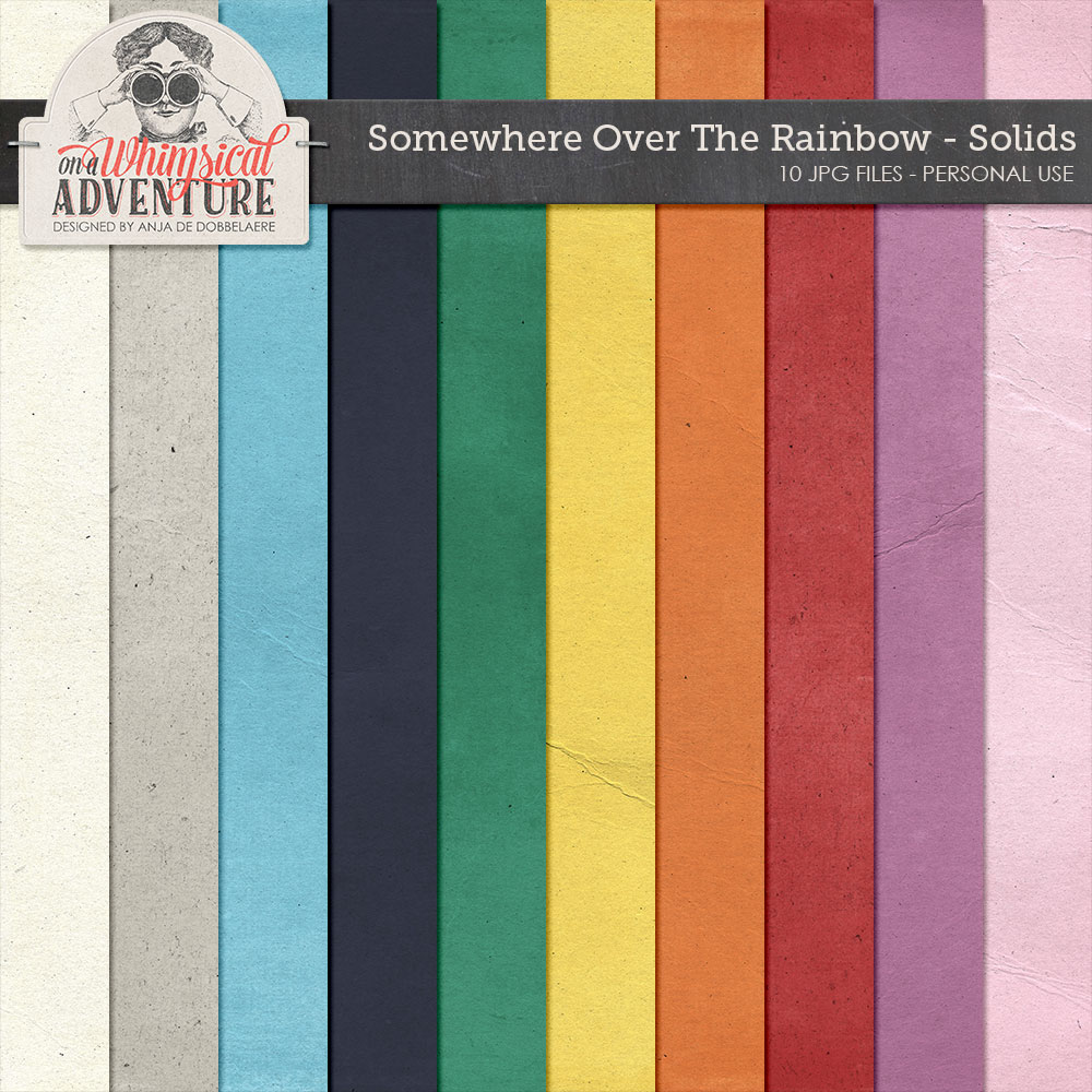 Somewhere Over The Rainbow Solids