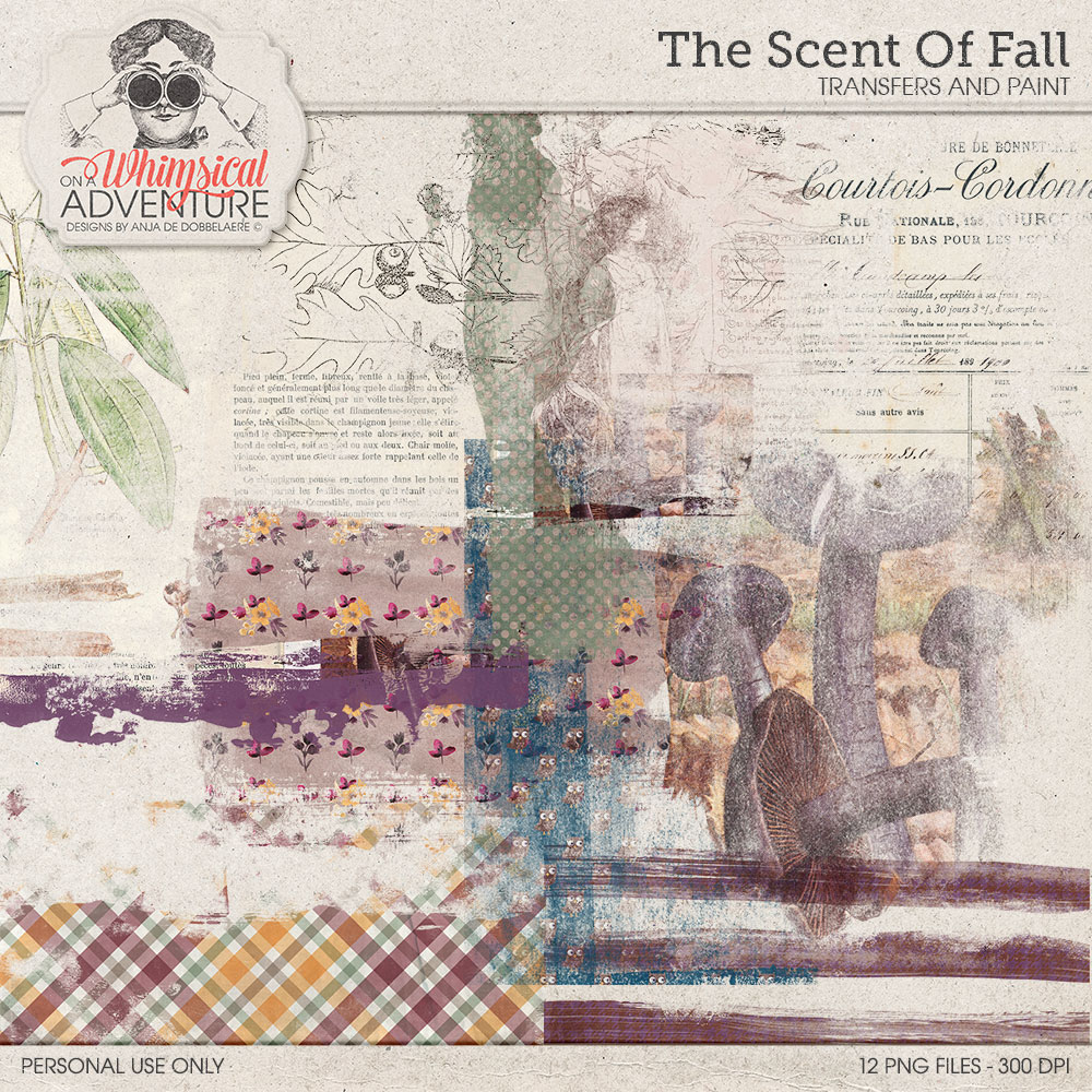 The Scent Of Fall Transfers And Paint