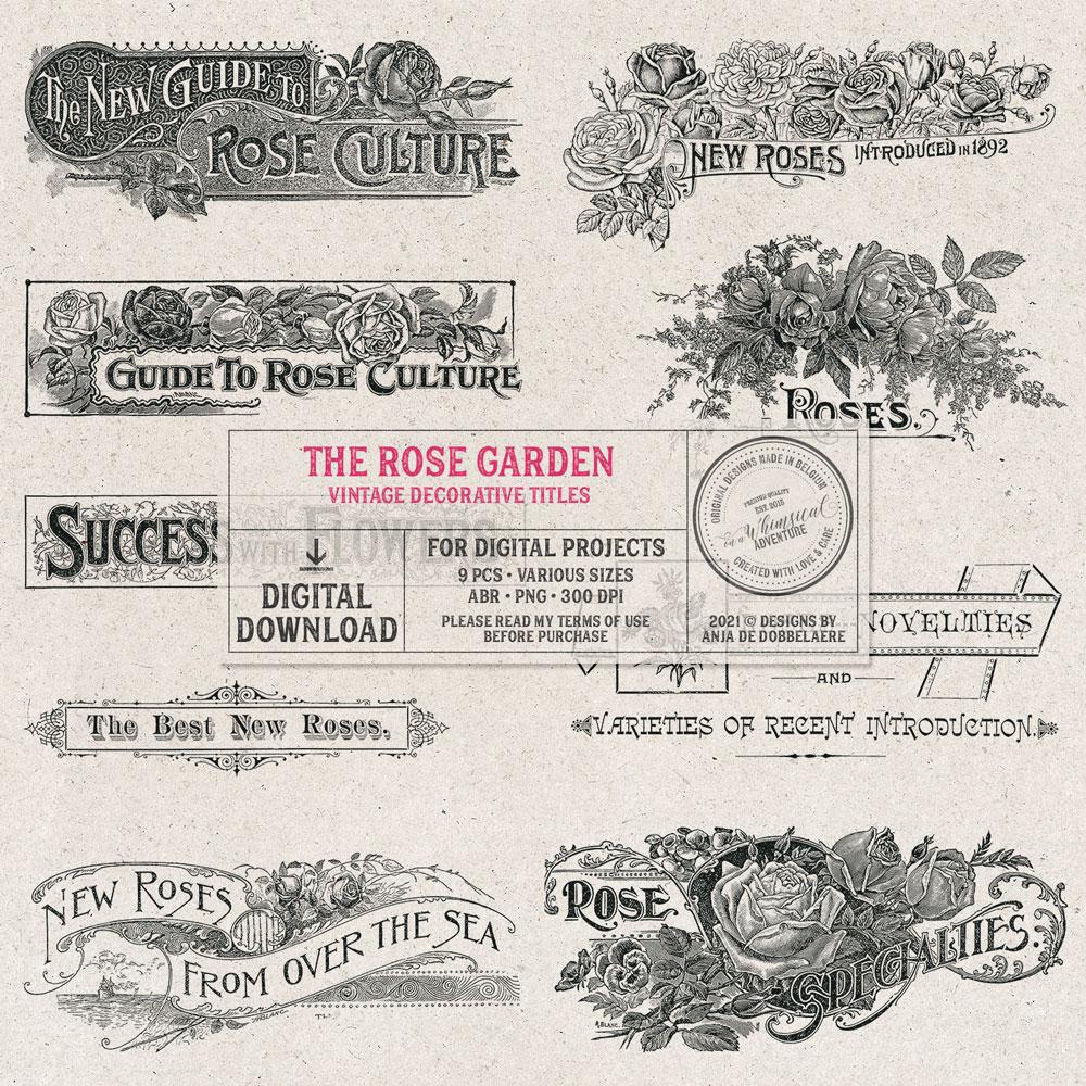 The Rose Garden Decorative Titles
