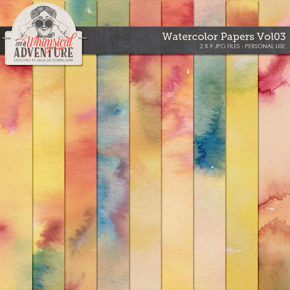 Watercolor Papers Vol03