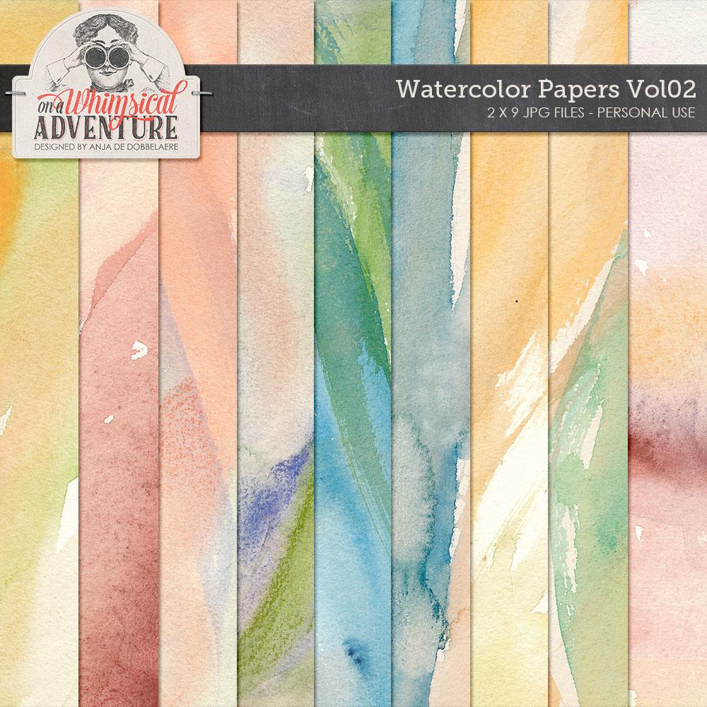 Watercolor Papers Vol02