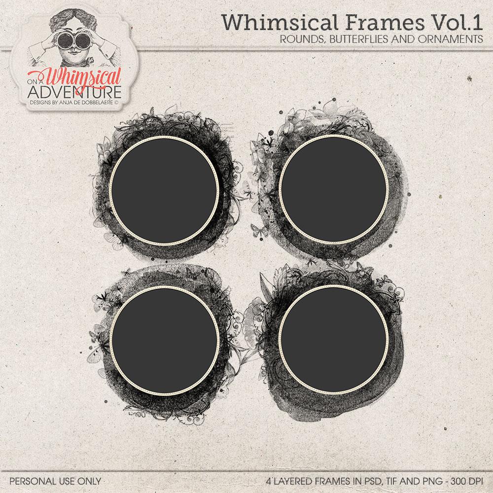 Whimsical Frames Vol01