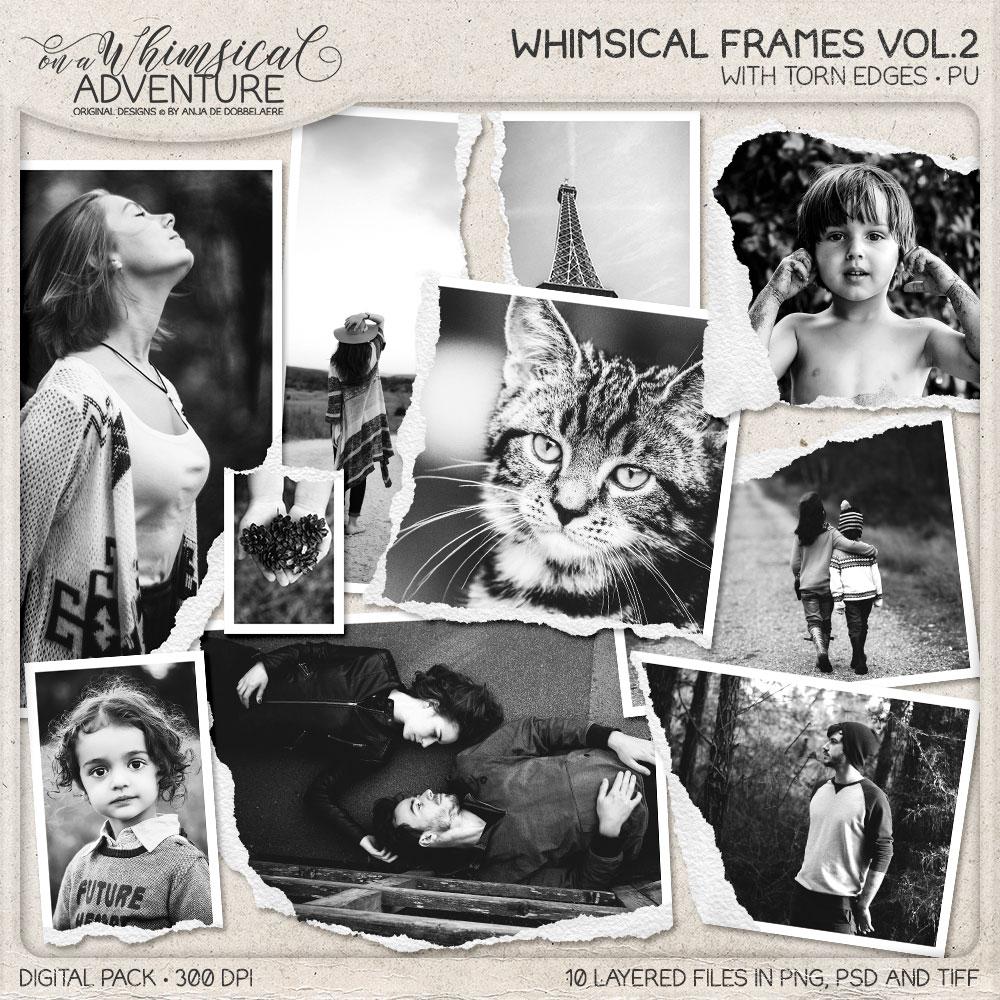 Whimsical Frames Vol02