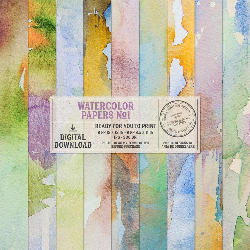 Watercolor Papers Vol01