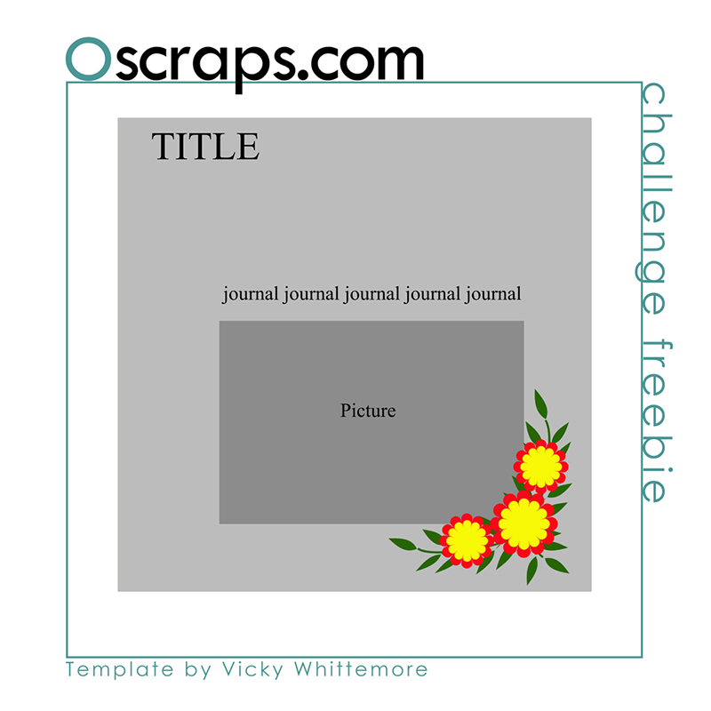 Oscraps 2021 May Template Challenge