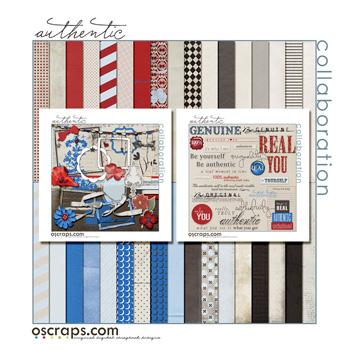Authentic :: Oscraps Collaborative Kit