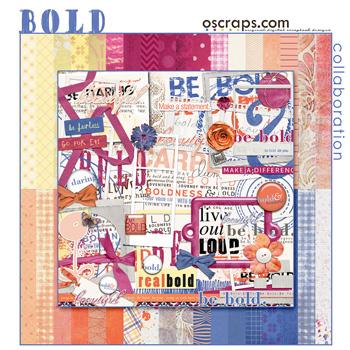 Bold :: Oscraps Collaborative Kit