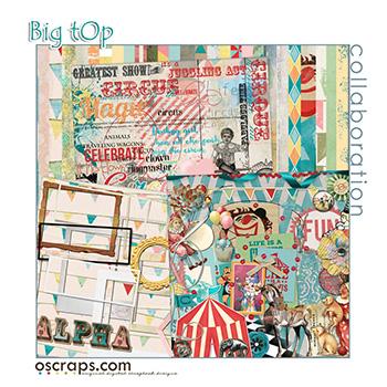 Big Top :: An Oscraps 2015 Collaboration