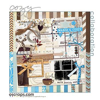 cOzy :: Oscraps Collaborative Kit
