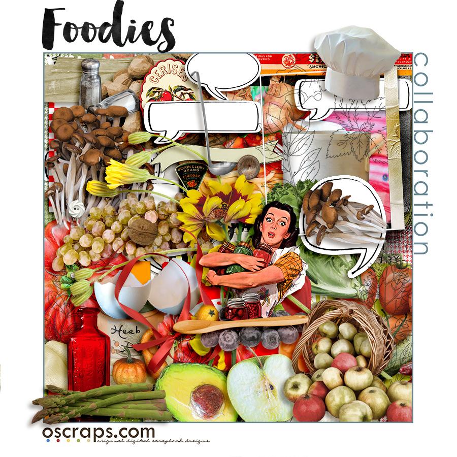 fOOdies :: An Oscraps 2016 Collaboration