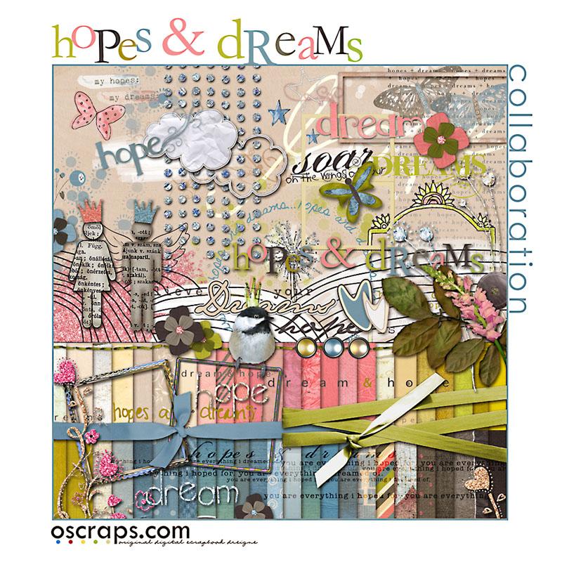 hOpes & Dreams :: Oscraps Collab {full kit}