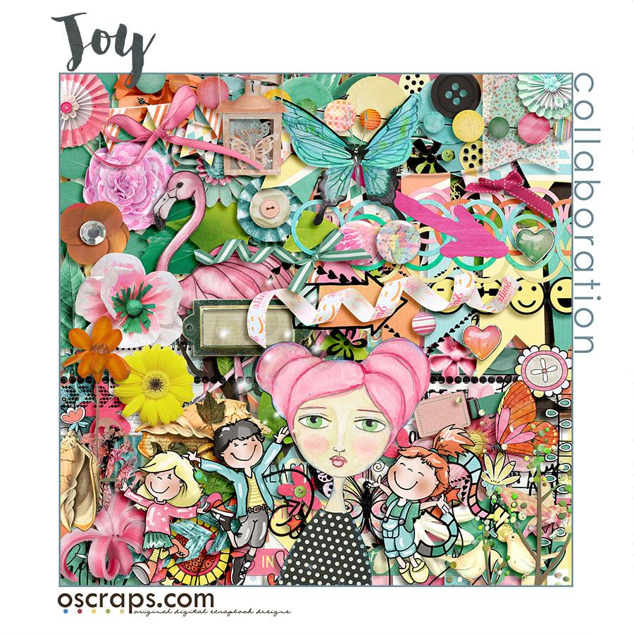 JOY :: An Oscraps collaboration