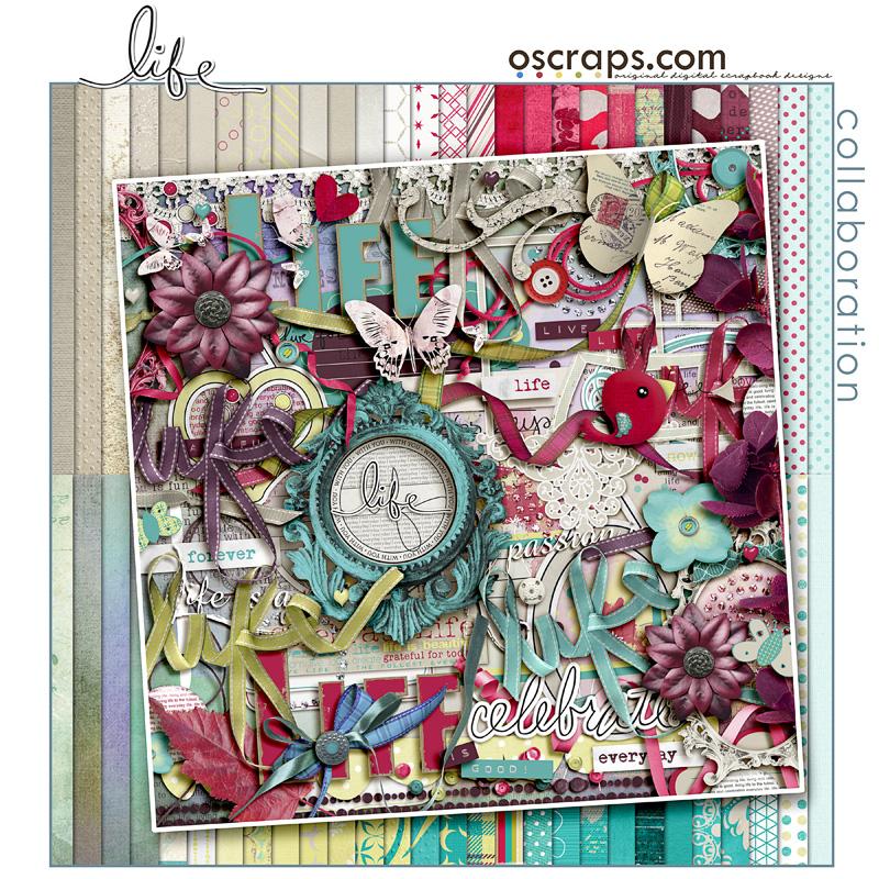 Life - Oscraps Collaborative Kit