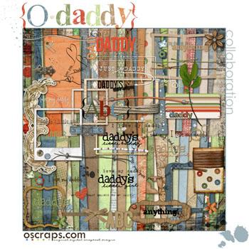 O Daddy - Oscraps Collab