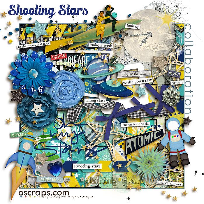 shOOting Stars :: An Oscraps 2014 Collaboration