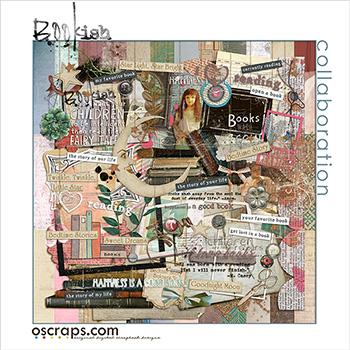 Bookish - An Oscraps 2014 Collaboration