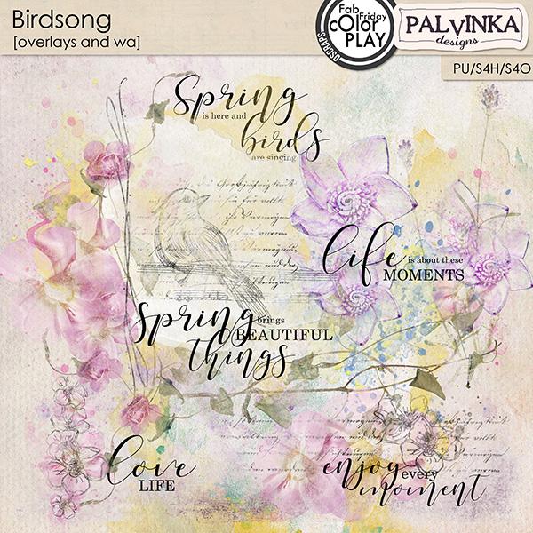 Birdsong Overlays and WA