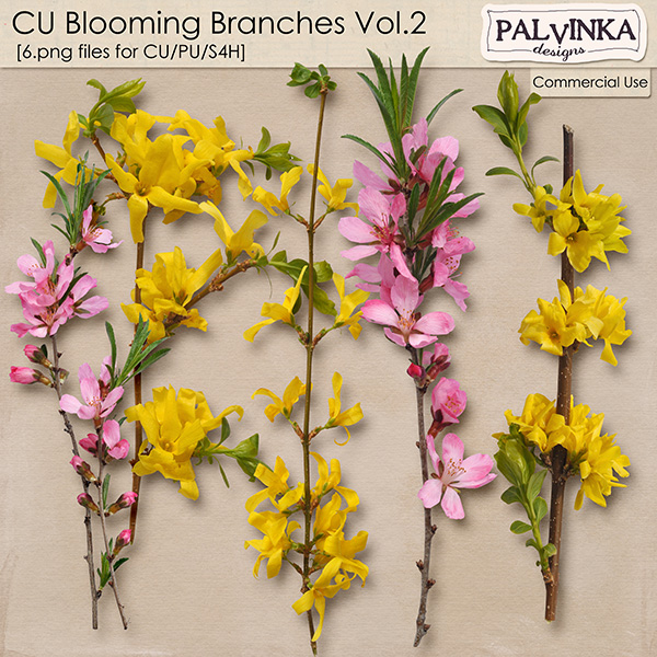 CU Blooming Branches Vol.2