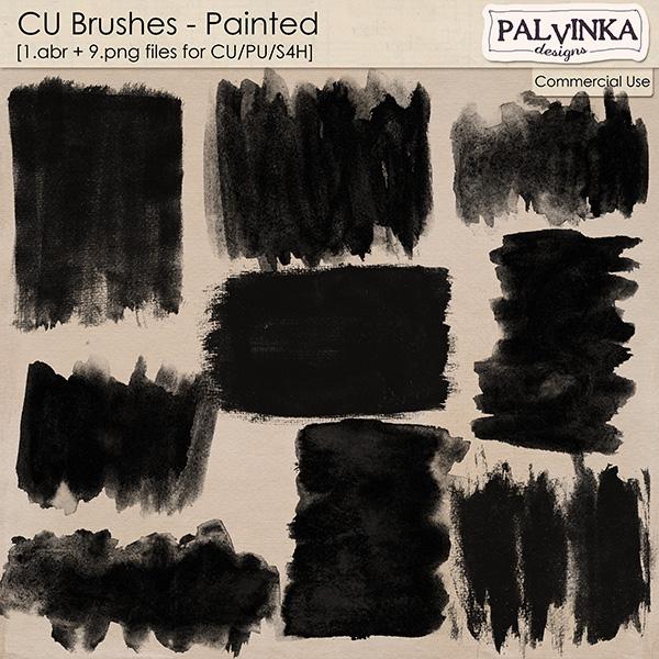CU Brushes - Painted
