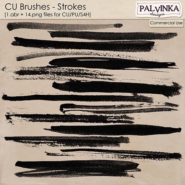 CU Brushes - Strokes