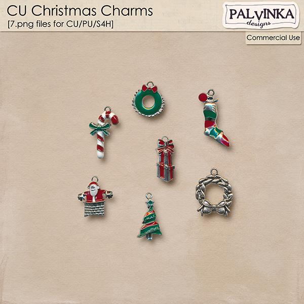 CU Christmas Charms