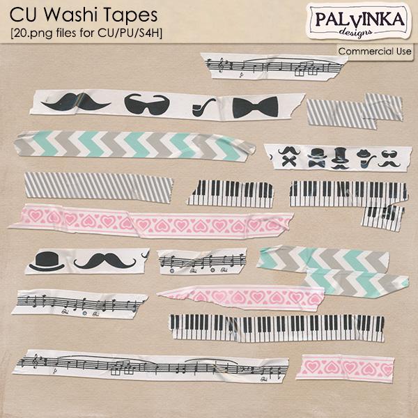 CU Washi Tapes