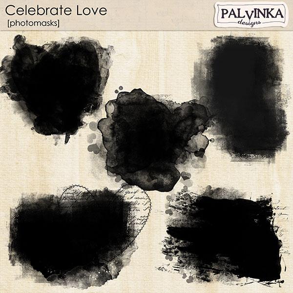 Celebrate Love Photomasks