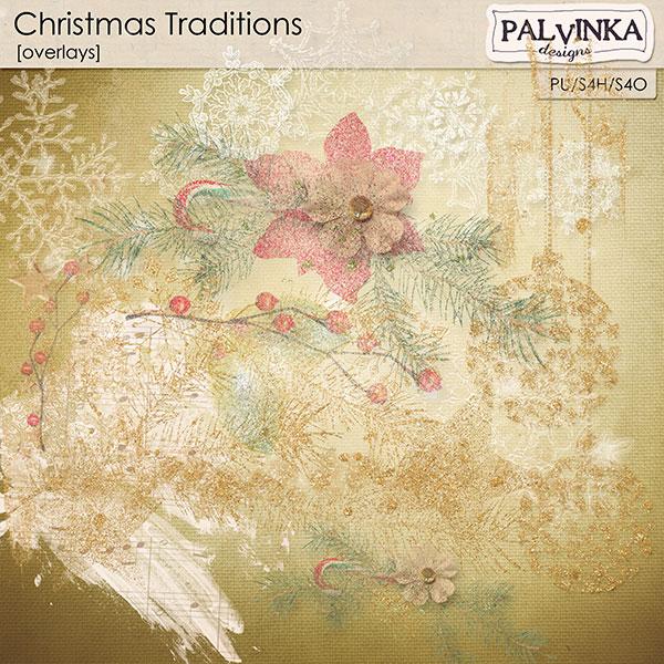 Christmas Traditions Overlays