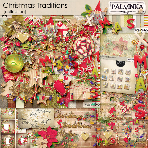 Christmas Traditions Collection + FWP