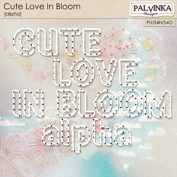 Cute Love In Bloom Alpha