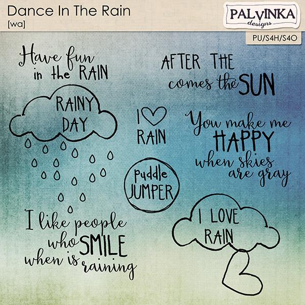 Dance In The Rain WA