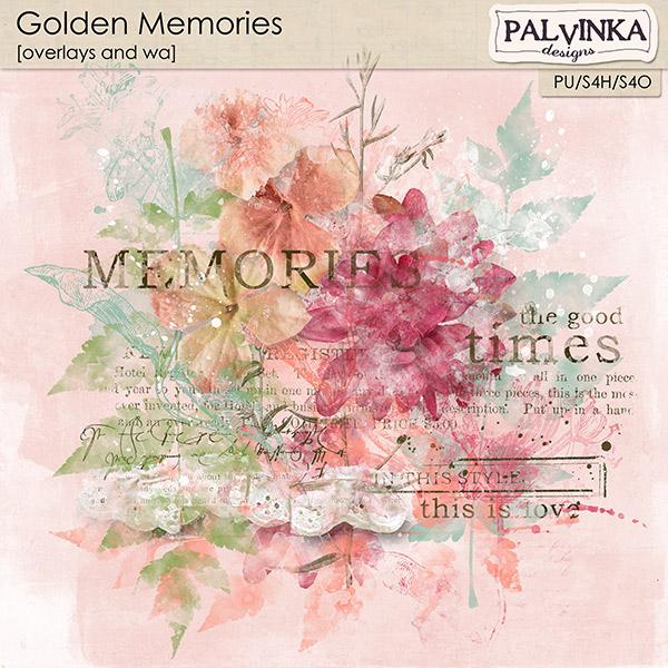 Golden Memories Overlays