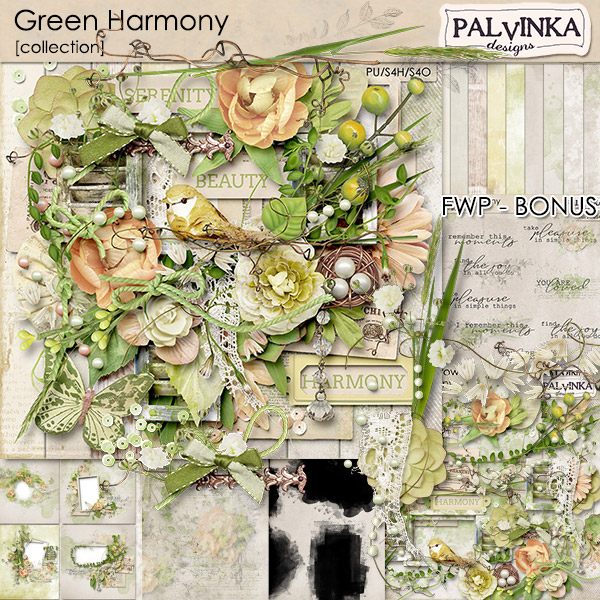 Green Harmony Collection + Free Gift