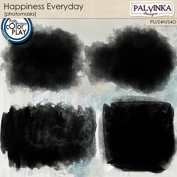 Happiness Everyday Photomasks