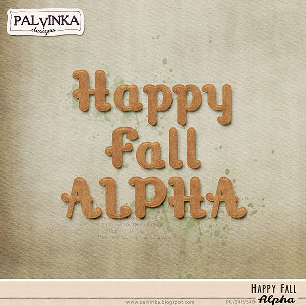 Happy Fall Alpha
