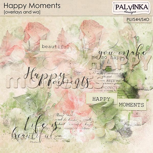 Happy Moments Overlays and WA