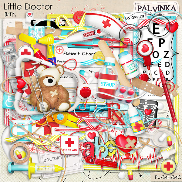 Little Doctor Kit and Alpha